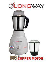 LONGWAY PLUTO 550 Watt 2 Jar Mixer Grinder