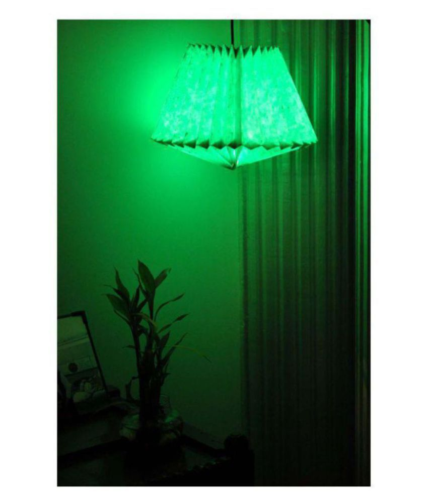 Lal Haveli Paper Home Decoration Indoor Ceiling Light Night Lamp Pendant Turquoise - Pack of 1