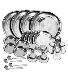 KC Stainless Steel Dinner Set of 24 Pieces