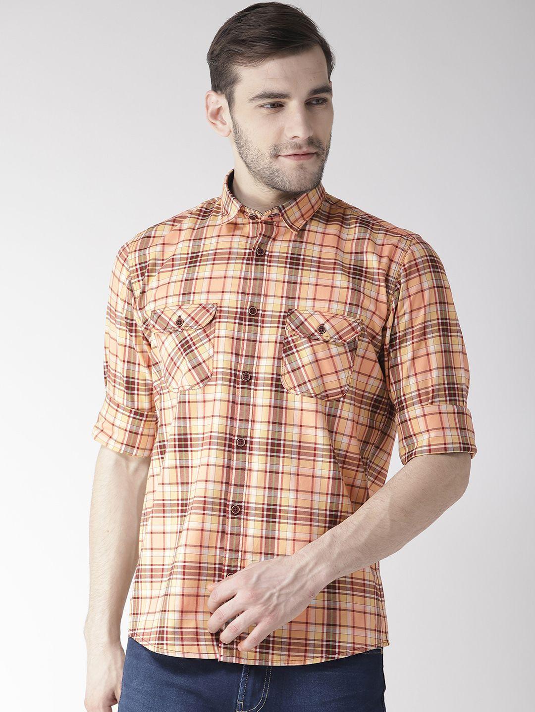 Richlook 100 Percent Cotton Multi Checks Shirt