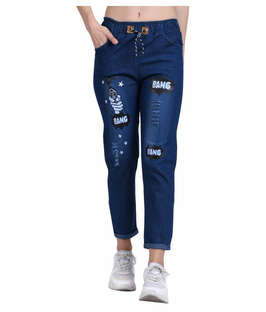 BuyNewTrend Denim Jeans - Blue