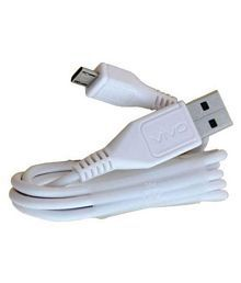 vivo charging cable USB Data Cable White - 1 Meter
