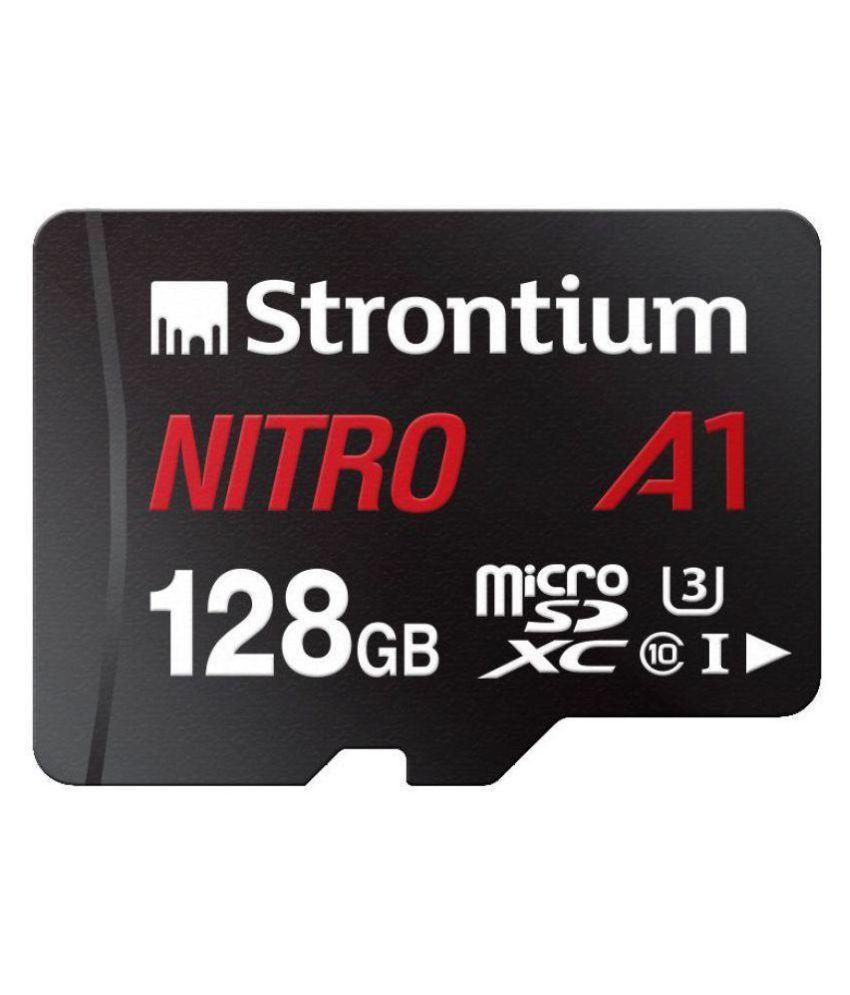 Strontium 128 GB UHS Class 1 Memory Card