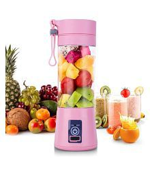 BONFIRE? Multi-functional USB Charging Juicer Cup Rechargeable Juice Blender Portable Fruit Mixer(1Pc-Assorted Color)