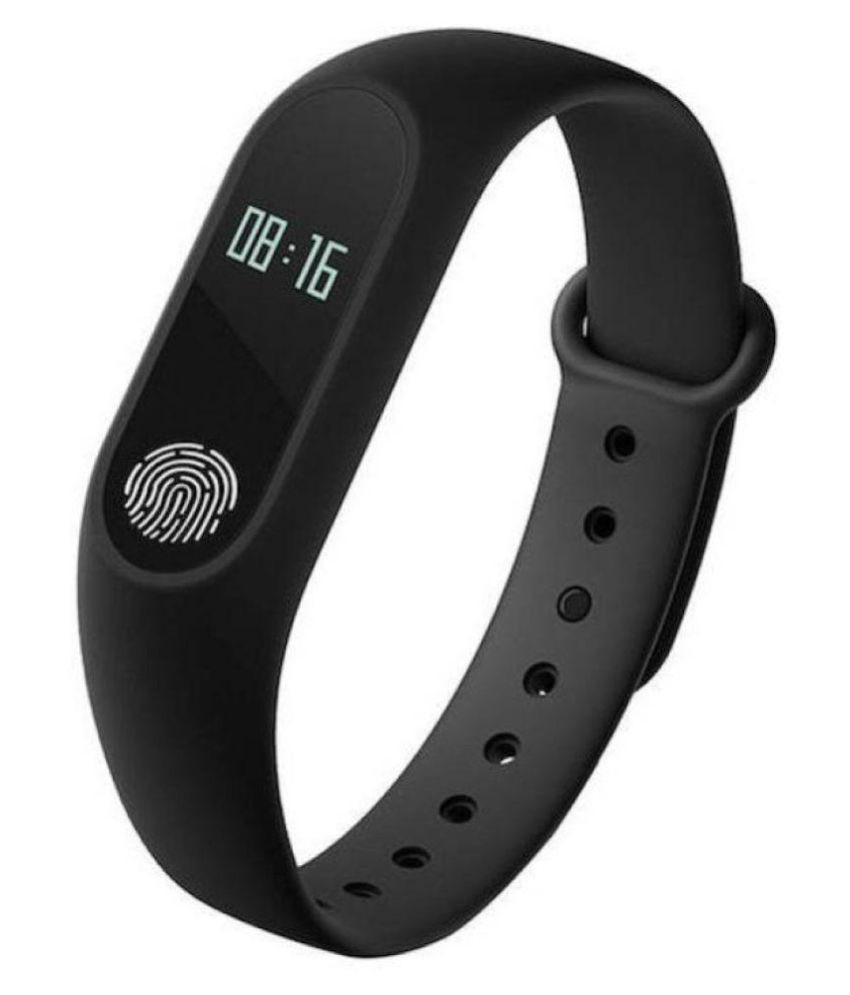 M-2 Waterproof Heart Monitoring Fitness Smart Band (Compatible with all Android & IOS Devices)
