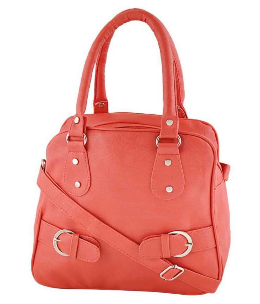 Renaissance Traders Pink P.U. Sling Bag