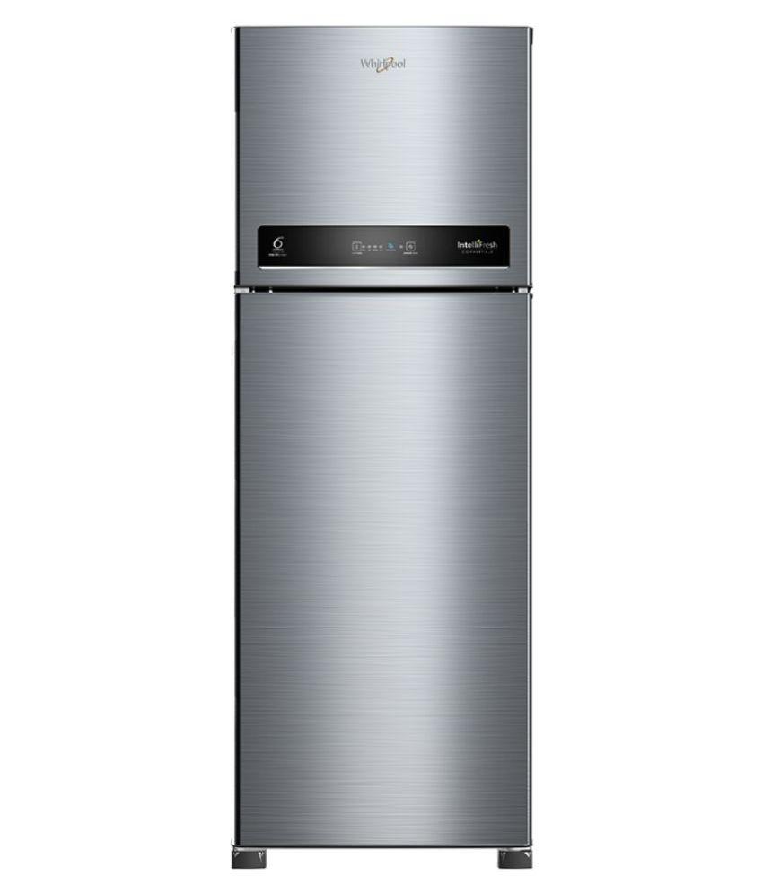 Whirlpool 292 L 3 Star Frost Free Double Door Refrigerator NEO DF305 PRM COOL ILLUSIA STEEL  3S
