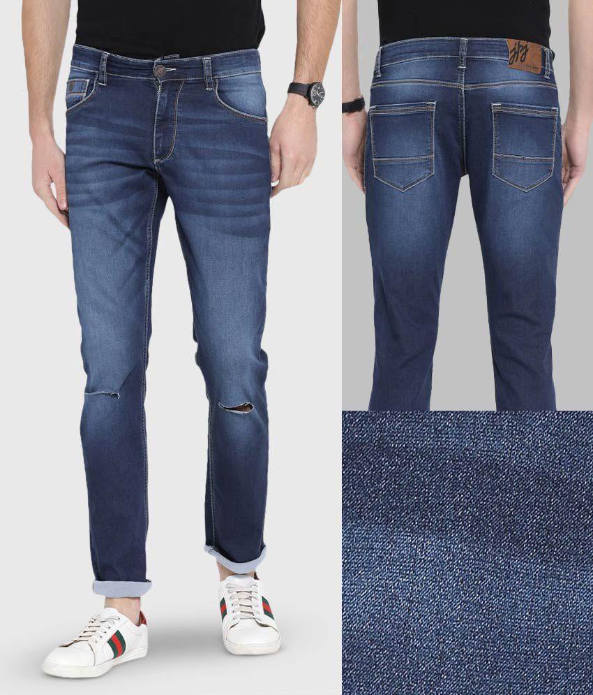 John Players Indigo Blue Skinny Jeans