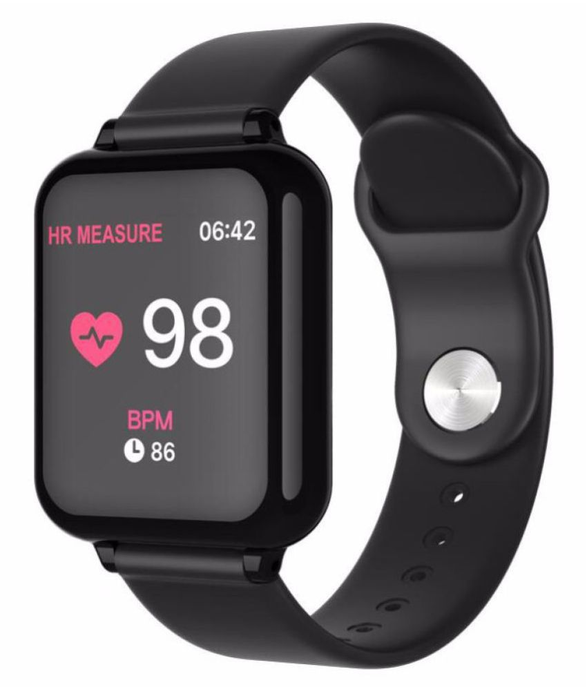 OPTA-SB-78 L-Goqii Vital Heart Rate Monitor HD Display Bluetooth Unisex Fitness Band for Android and iOS Smartphones