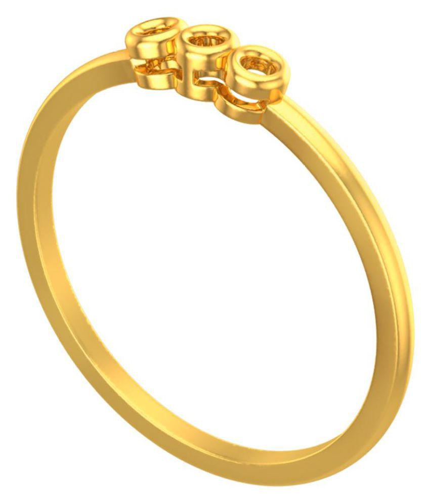 JewelKari.com 14k Yellow Gold Ring