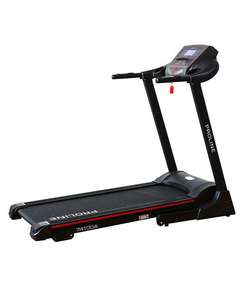 Proline Fitness 74100A Blend 1.25HP Motorized Treadmill (Black) / Exercise machine