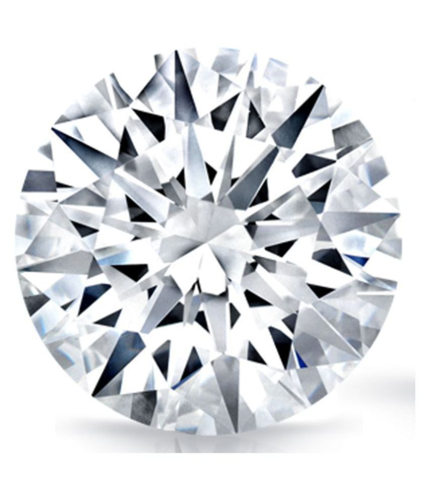 100% Certified 0.73 Carat White Moissanite Diamond (Heera) Brilliant Round Excellent Cut Loose Gemstone AAA+ Quality