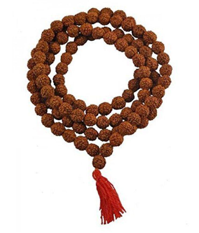 Divya Shakti Rudraksha Panch Mukhi Mala (9 MM) (108 + 1) beads