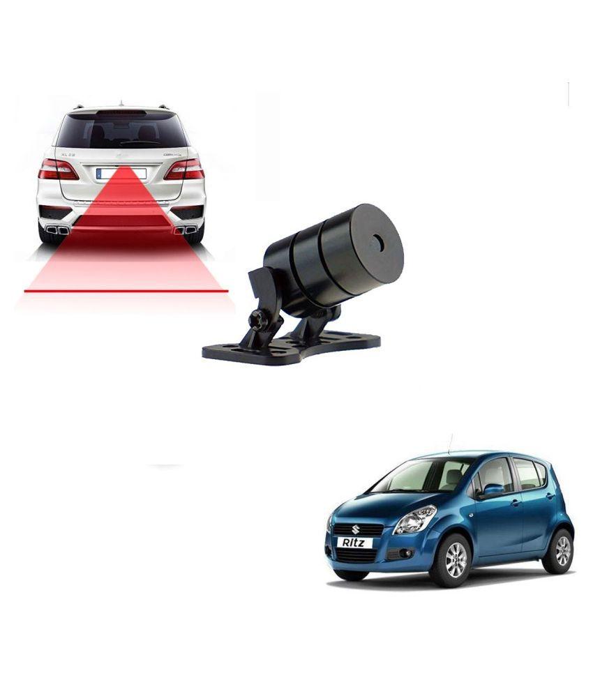 Auto Addict Car Styling Anti Collision Safety Line Led Laser Fog Lamp,Brake Lamp,Running Tail Light-12V Cars For Maruti Suzuki Ritz
