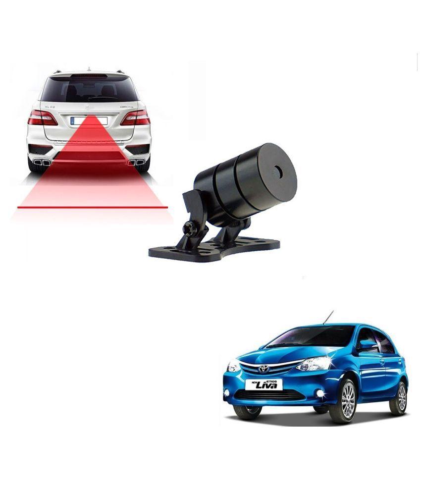 Auto Addict Car Styling Anti Collision Safety Line Led Laser Fog Lamp,Brake Lamp,Running Tail Light-12V Cars For Toyota Etios Liva