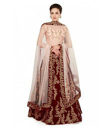 Embroidered Lehenga: Buy Embroidered Lehenga for Women Online at Low