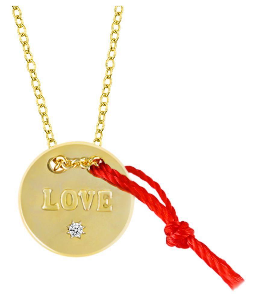 Destiny Copper Golden Choker Contemporary/Fashion Silver Plated Necklace (Fashion Jewellery)