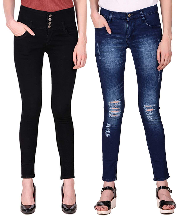Ansh Fashion Wear Denim Jeans - Multi Color