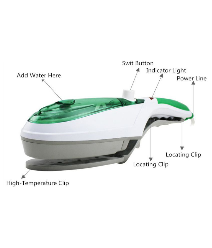 DHRASHTU Electric iron Steam Iron Green