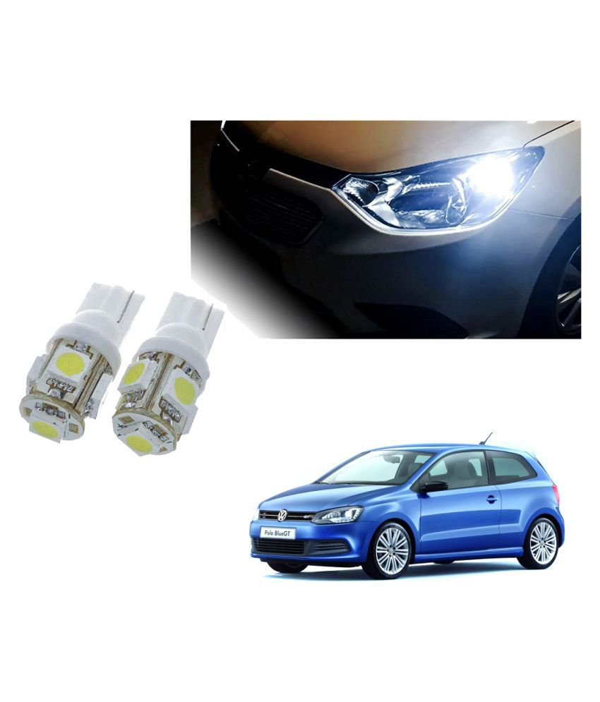 Auto Addict Car T10 5 SMD Headlight LED Bulb for Headlights,Parking Light,Number Plate Light,Indicator Light For Volkswagen Polo GT