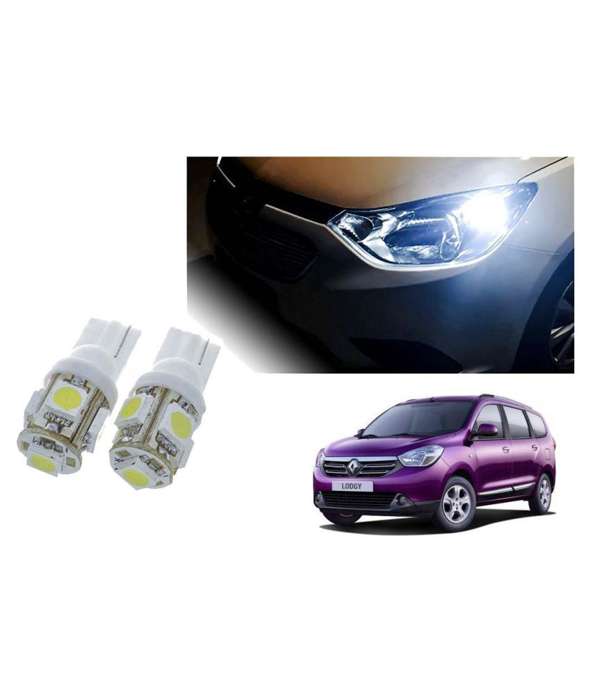 Auto Addict Car T10 5 SMD Headlight LED Bulb for Headlights,Parking Light,Number Plate Light,Indicator Light For Renault Lodgy