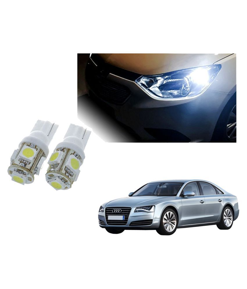 Auto Addict Car T10 5 SMD Headlight LED Bulb for Headlights,Parking Light,Number Plate Light,Indicator Light For Audi A8