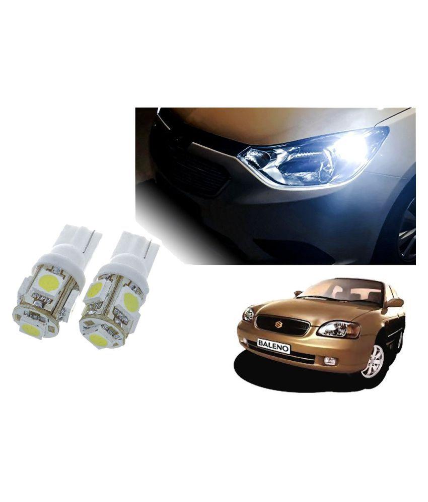 Auto Addict Car T10 5 SMD Headlight LED Bulb for Headlights,Parking Light,Number Plate Light,Indicator Light For Maruti Suzuki Baleno