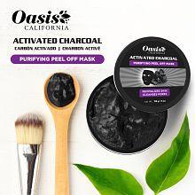 Oasis CALIFORNIA Charcoal Peel Off Mask Face Peel Cream 113 gm