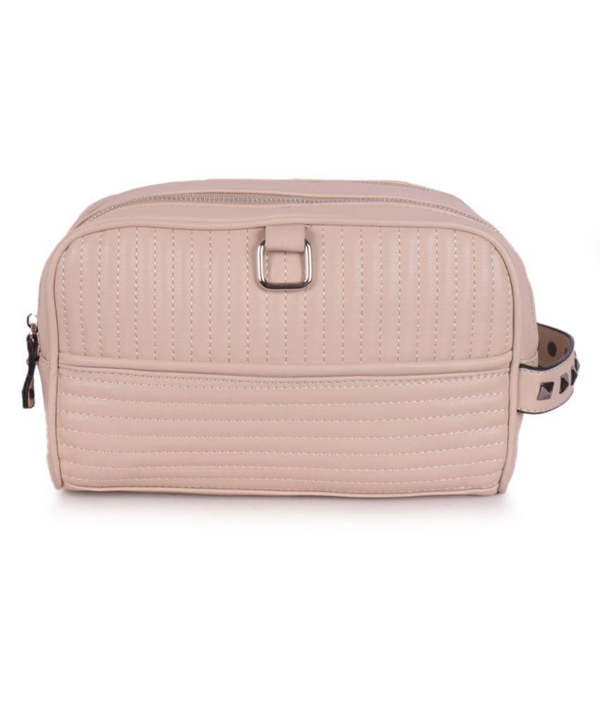Bagkok Beige P.U. Handbags Accessories