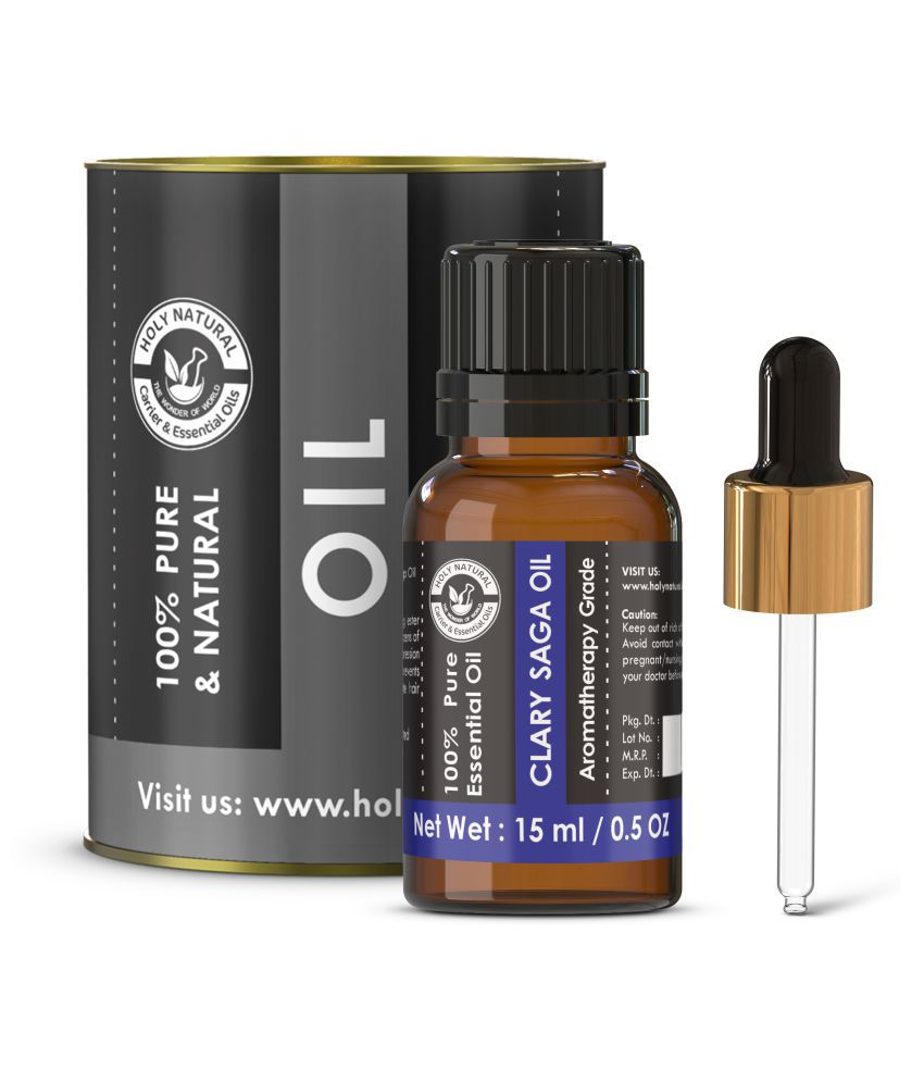 Holy Natural Clary Sage Essential Oil 15 mL
