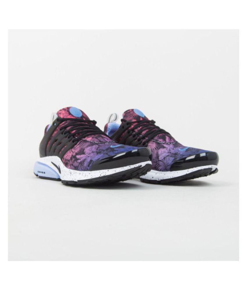 100% genuine new arrival beauty Nike AIR PRESTO GPX 'TROPICAL' ALUMINIUM/BLACK-WHITE-DUSTY GREY Running  Shoes Purple