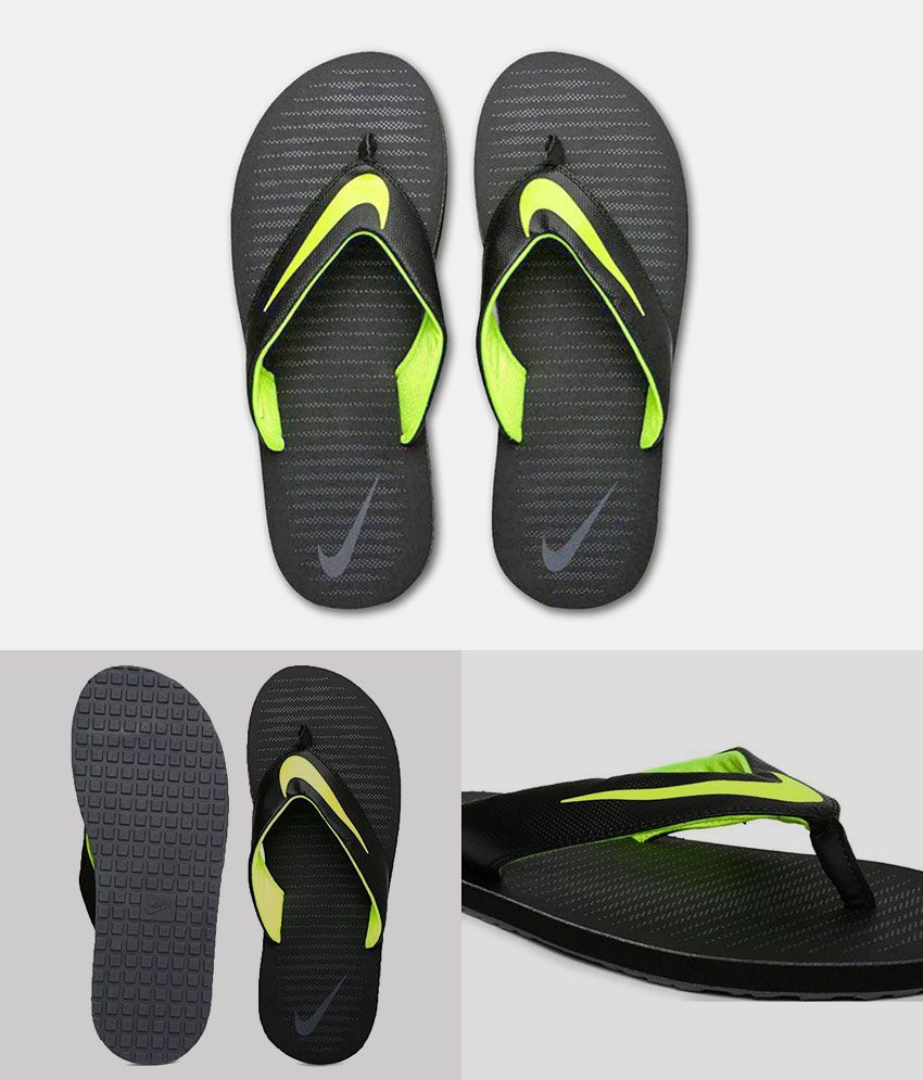 3126d5e4 Nike Black Thong Flip Flop Price in India- Buy Nike Black Thong Flip ...
