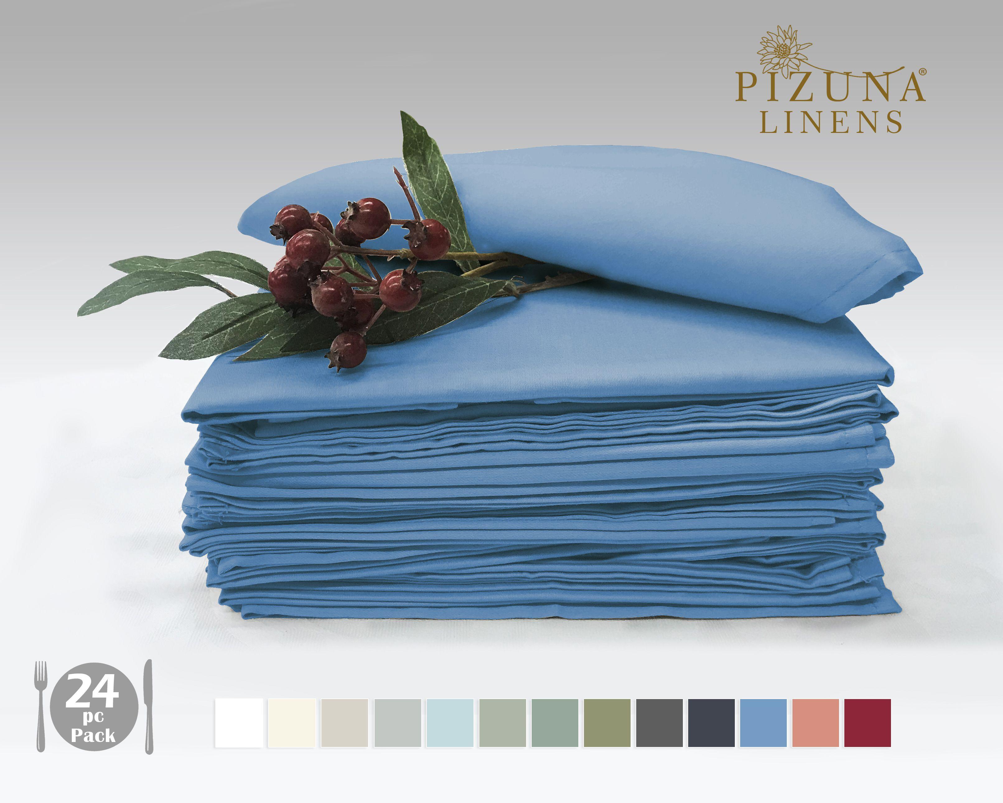 Pizuna Linens Set of 20 Cotton Napkin