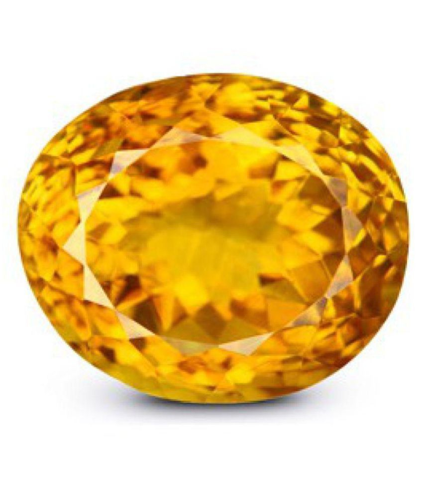 Yellow Citrine - 11.49 carats Natural Agate Gemstone