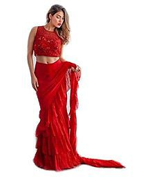 e9142480fb Plain Saree: Buy Plain Saree Online in India at low prices - Snapdeal