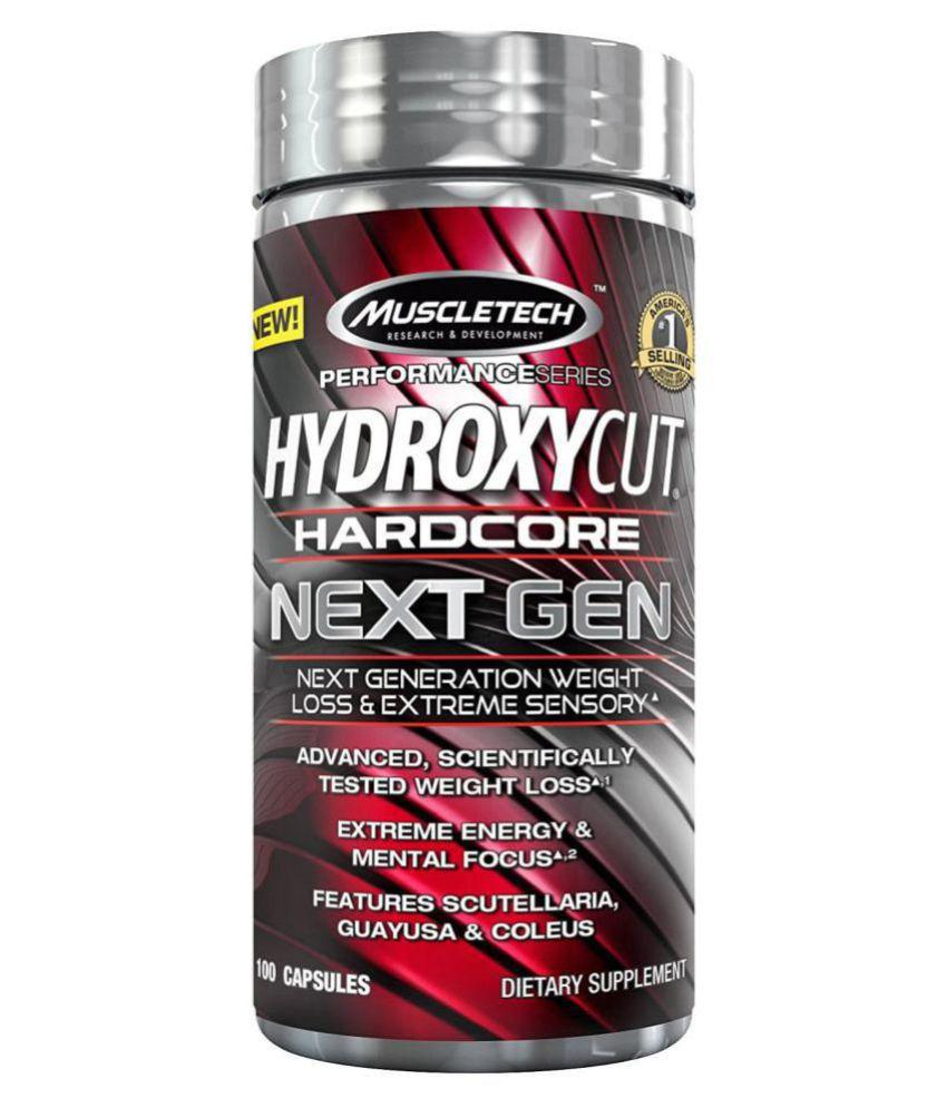 Muscletech Nutrition HYDROXYCUT NEXT GEN,100 CAP 100 gm Fat Burner Capsule