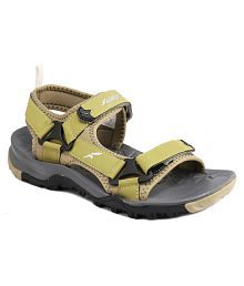 FURO Olive Synthetic Floater Sandals