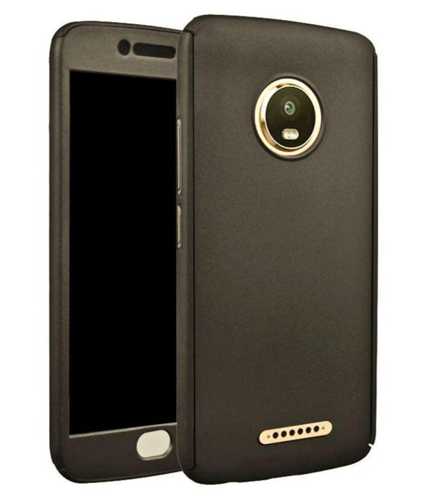 Motorola Moto C Plus Plain Cases Coverage - Blue