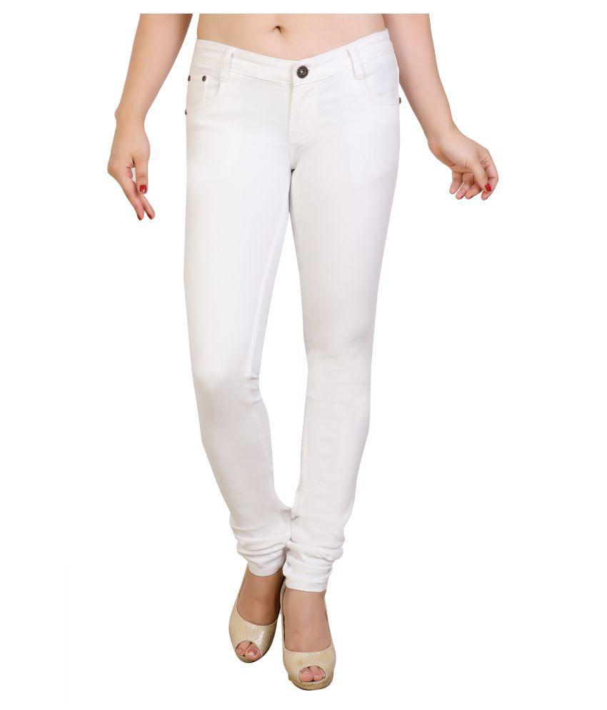 FCK-3 Denim Jeans - White