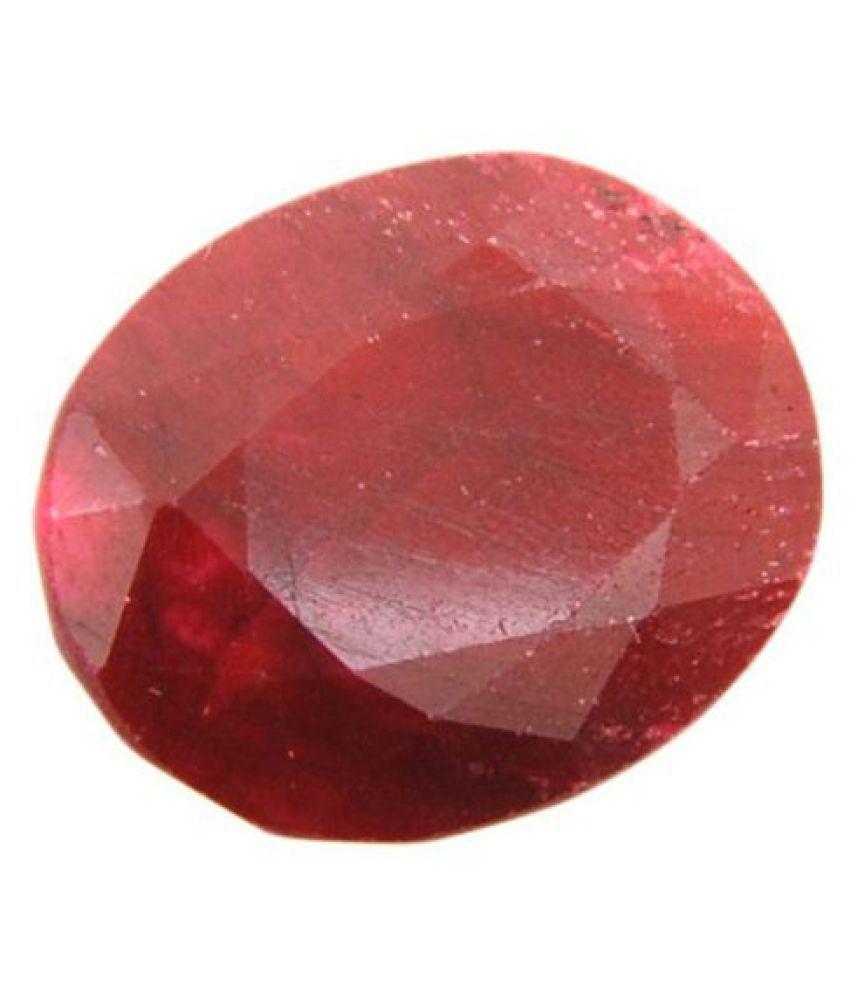 Best Quality 6.25 Ratti Red Ruby Gemstone
