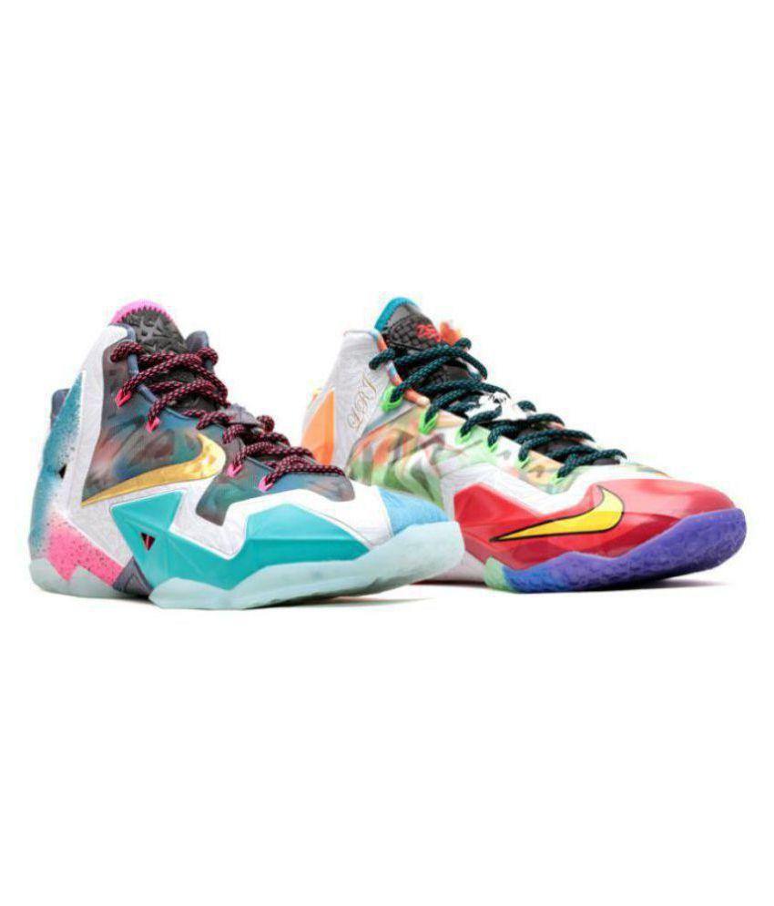 lebron Multi Color Basketball Shoes