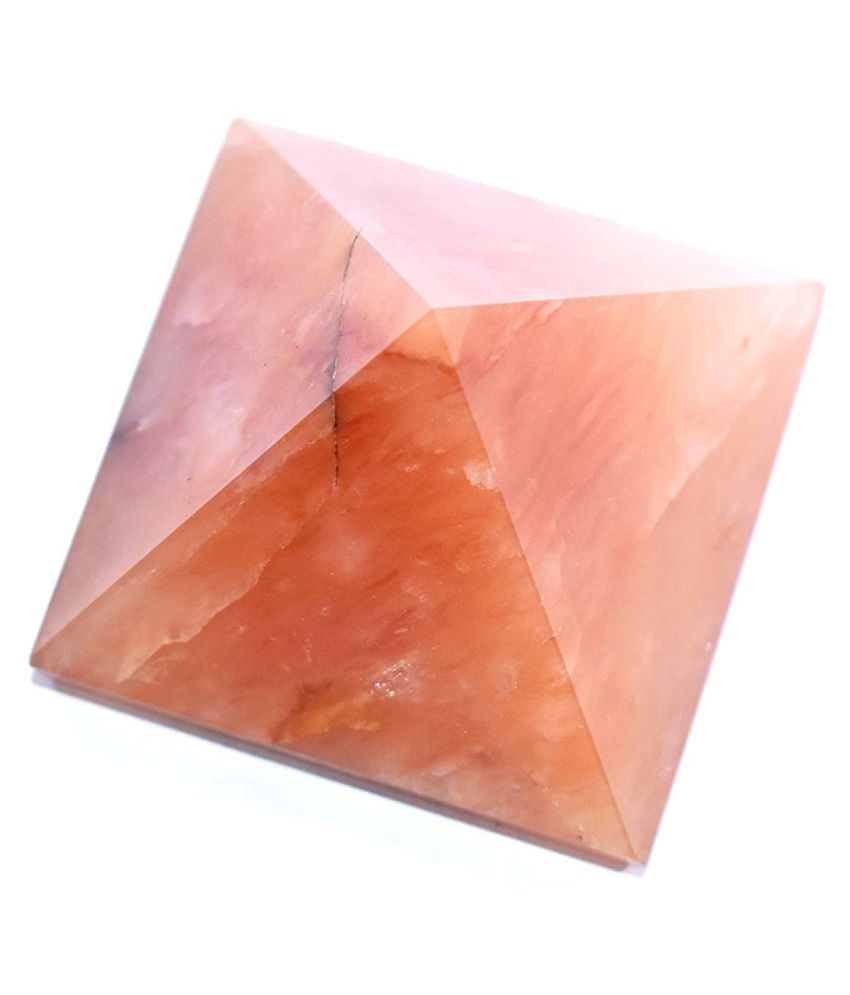 2.5 Inches Red Aventurine Natural Agate Stone Pyramid