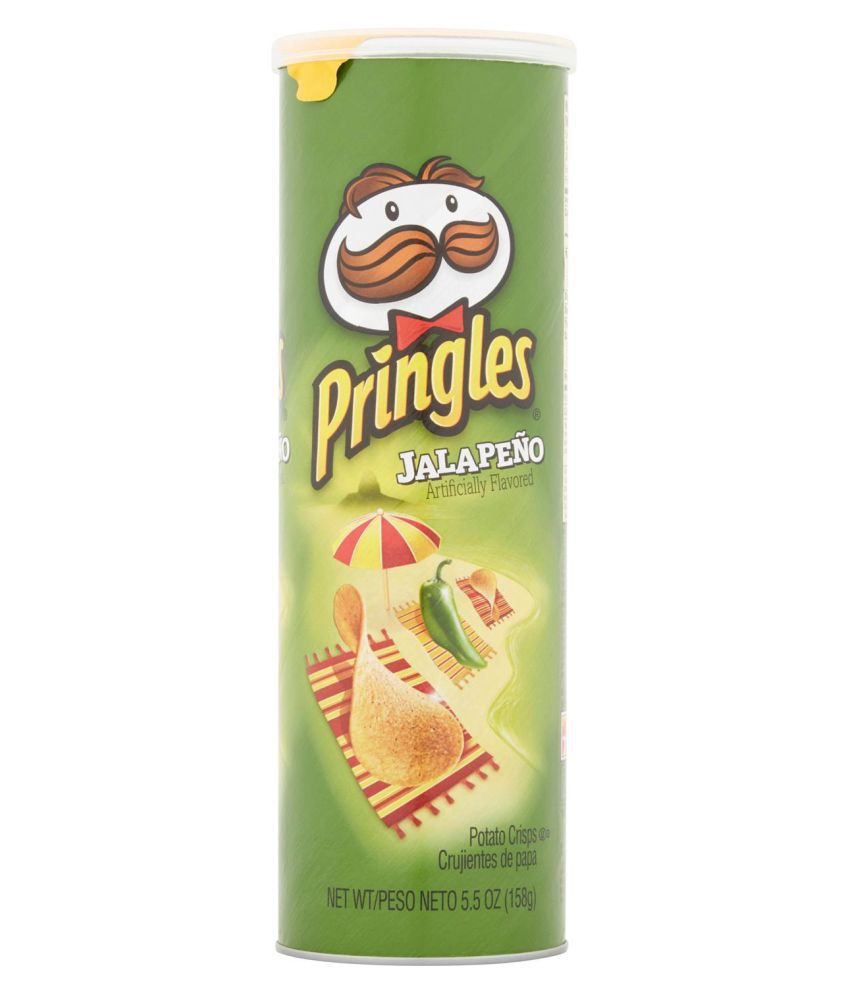Pringle's Jalapeno Potato Chips 158 g