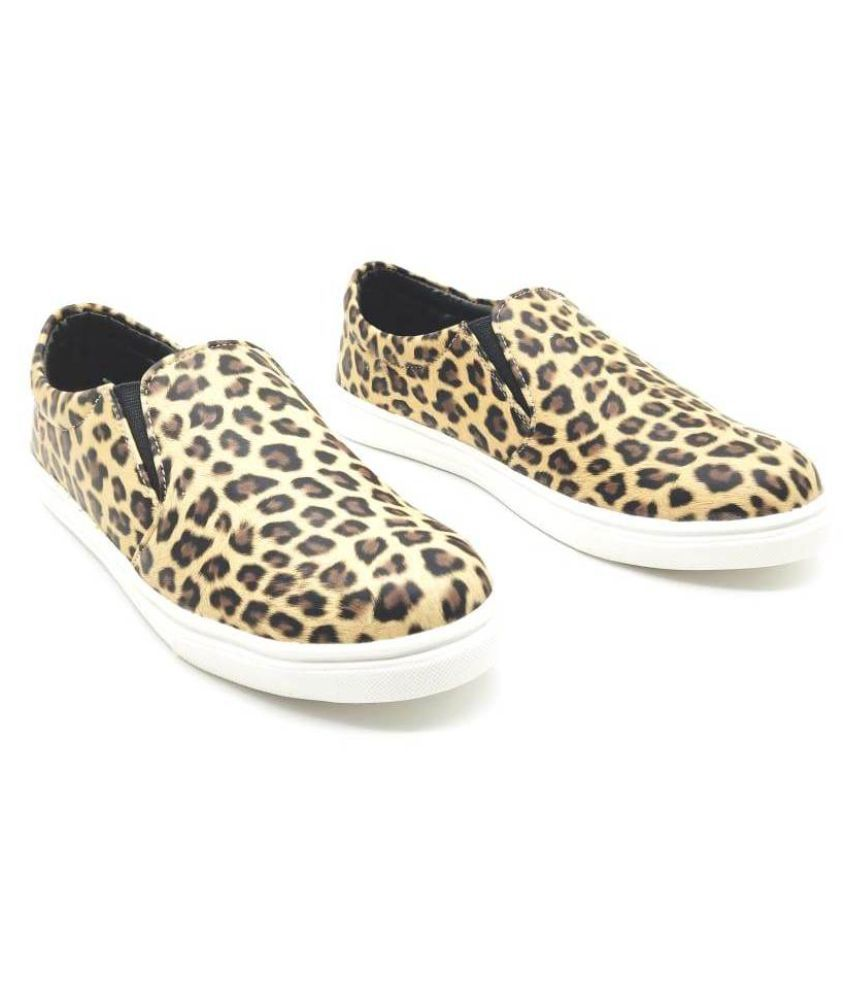 Jazzie Collection Brown Casual Shoes