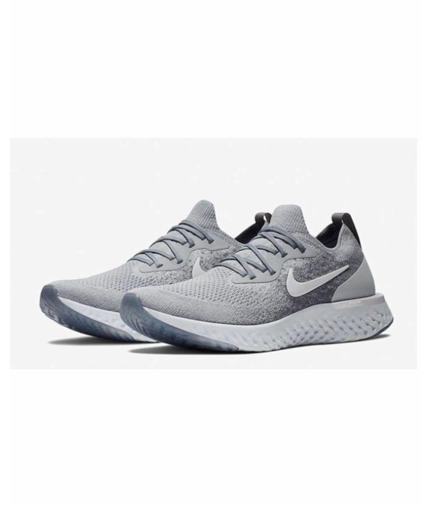 Nike Epic React Grey Running Shoes
