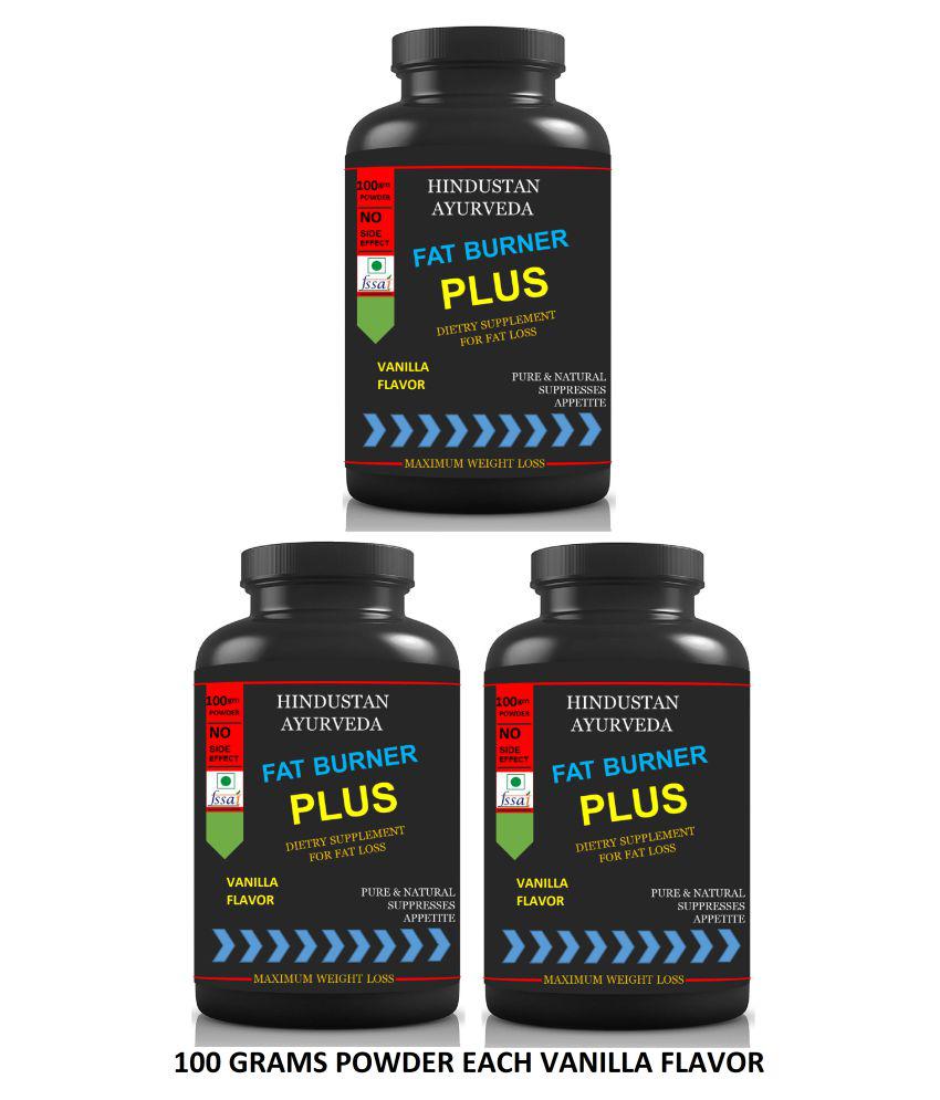 Hindustan Ayurveda Fat Burner Plus Fat Cutter Powder 300 gm Pack of 3