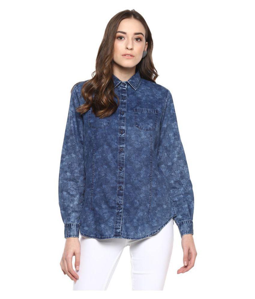 Speak Blue Denim Shirt