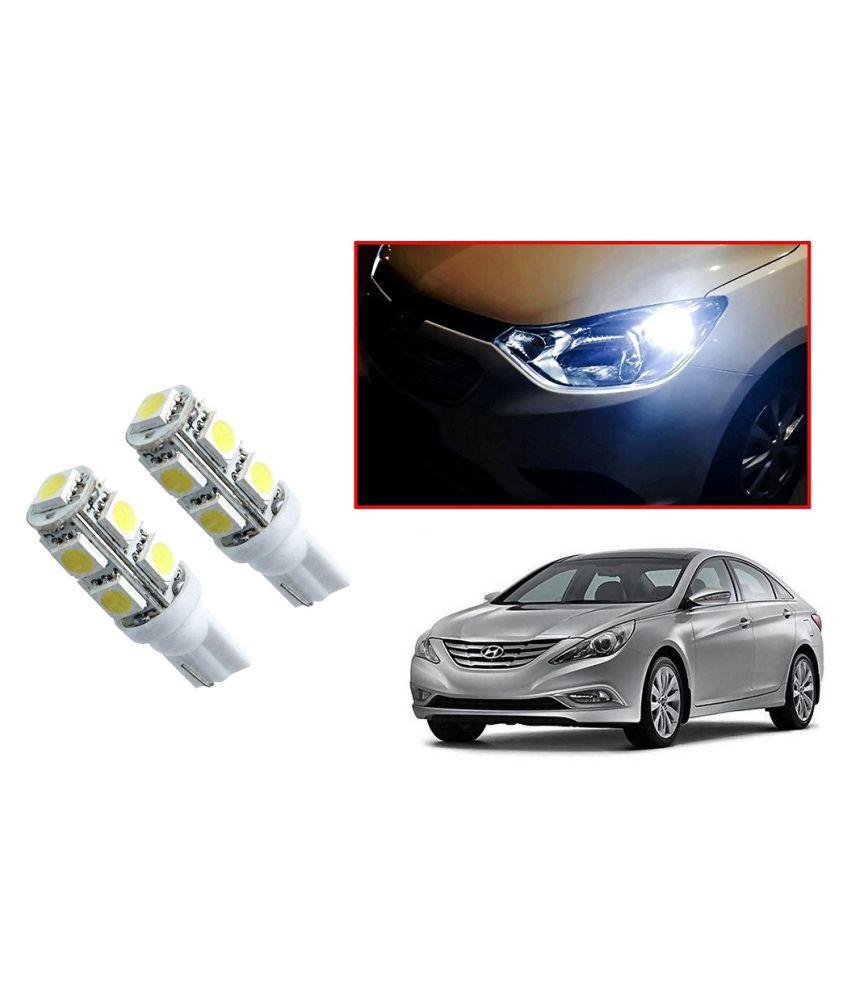 Auto Addict Car T10 9 SMD Headlight LED Bulb for Headlights,Parking Light,Number Plate Light,Indicator Light For Hyundai Sonata