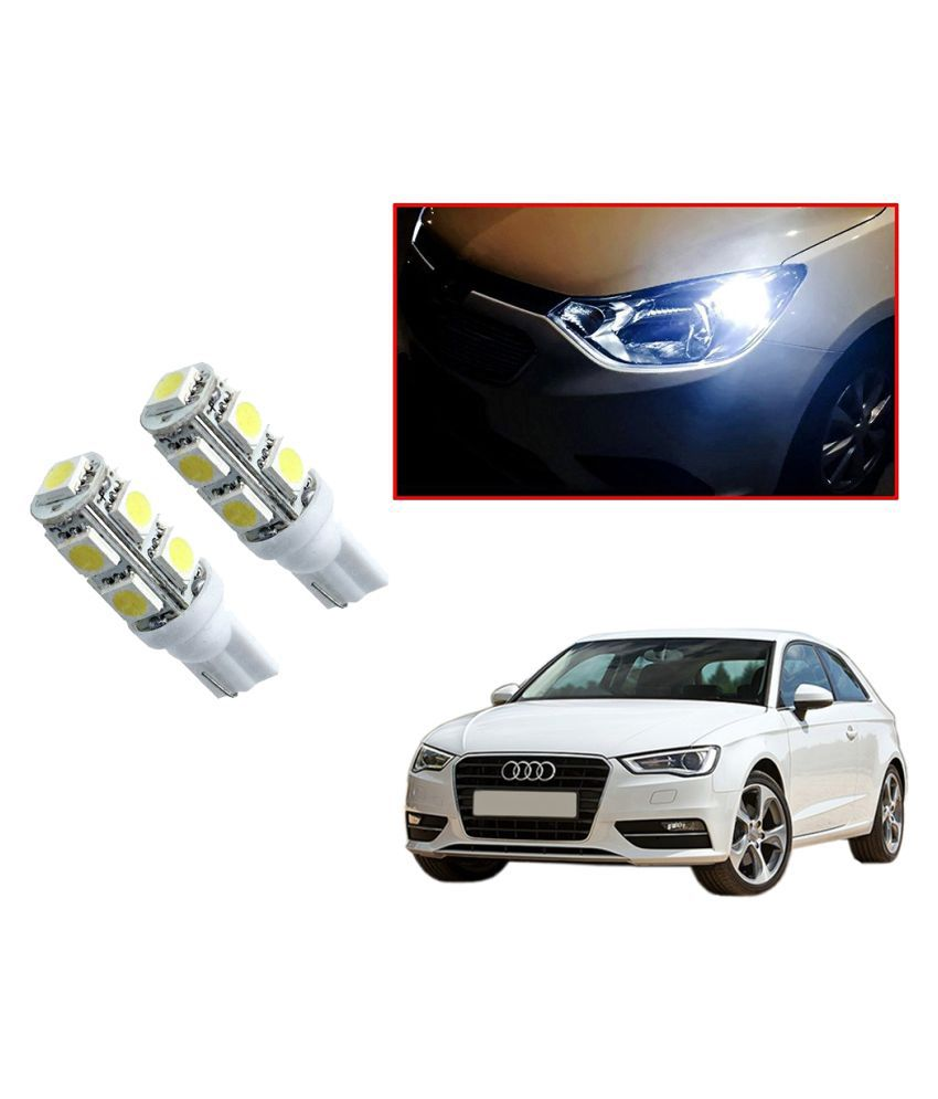 Auto Addict Car T10 9 SMD Headlight LED Bulb for Headlights,Parking Light,Number Plate Light,Indicator Light For Audi A3