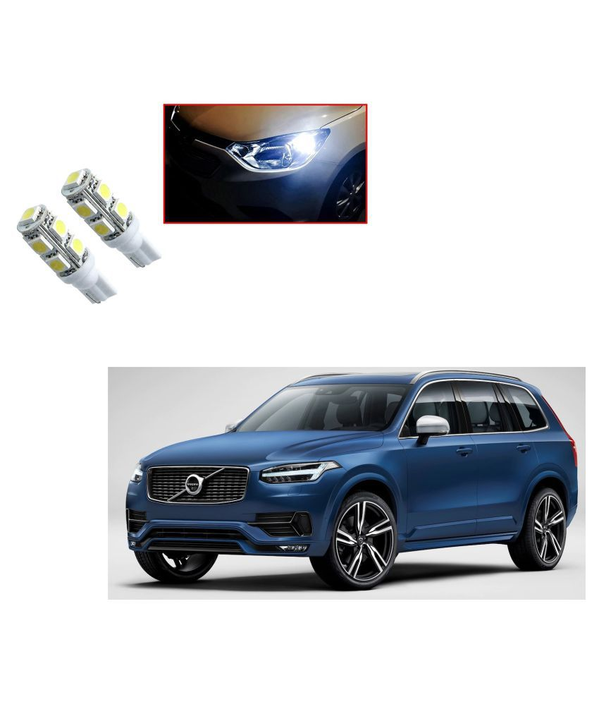 Auto Addict Car T10 9 SMD Headlight LED Bulb for Headlights,Parking Light,Number Plate Light,Indicator Light For Volvo XC90